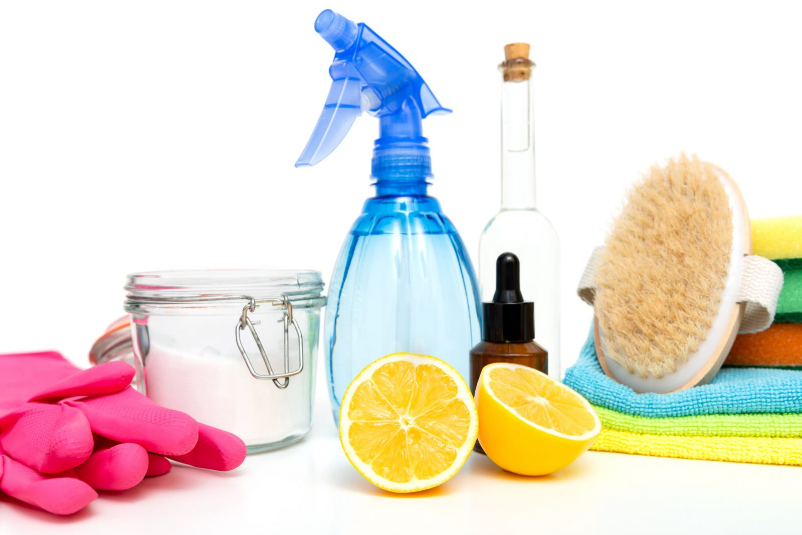 cleaning supplies provided by cleaning services in Mount Prospect