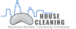 house cleaning services skokie logo